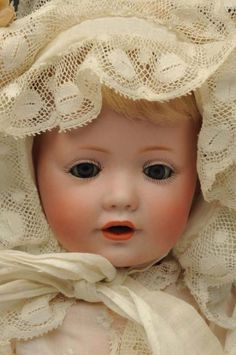 """Lot # : 12 - Delightful """"Hilda"""" Character Baby Doll."""