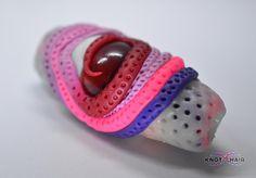 Bloodshot monster eye bead... dreadlock bead, dread sleeve, glow in the dark, UV Reactive, party, festival, it glows!!!!!!! on Etsy, £21.50