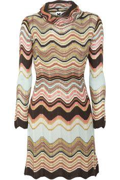 M Missoni - Crochet-knit dress.
