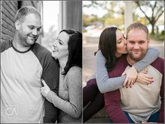 Morgan + Phillip : San Marco Square + Downtown Jacksonville Engagement Session