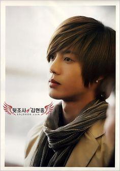 Kim Hyun Joong, he's gotta be my favorite.