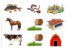 Кто что ест и где живет Busy Book, Animal House, Farm Animals, Teaching Kids, Montessori, Homeschool, Projects To Try, Pictures, Educational Activities