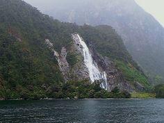 Waterfalls of Milford Sound