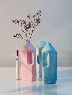 cinqfruits:  Le petit Marseillais / plaster and plastic , shot by mathieu Missiaen , sculpture by LCSS / shot at l'atelier Carré in Paris /FOLLOW US ON5FRUITS