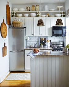 I Just Love Tiny Houses!: Small Space Living - Kitchen