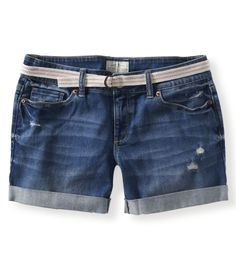 Medium Wash Denim Boyfriend Shorts. I love these!!