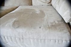 How to clean a microfiber couch