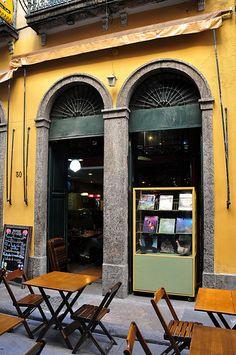 Bar & secondhand bookstore / Rio de Janeiro / By Alexandre Macieira|Riotur