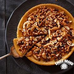 Salted Caramel Pretzel Cheesecake from Eagle Brand®