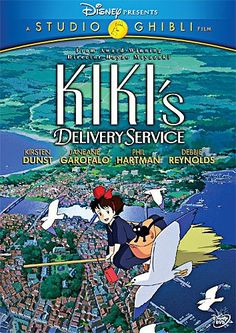 Set in a time when airships still ruled the skies and World War II never happened, KIKI'S DELIVERY SERVICE is a coming-of-age tale that explores the difficulties of being a young witch. On her thirtee