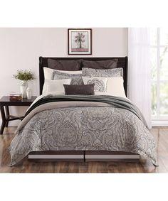 Brown Palazo Comforter Set | zulily