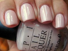 Goose's Glitter: OPI Let Them Eat Rice Cake Swatch
