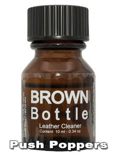 CONTENT: 10 ML Pentyl Nitrite - CAS Brown Bottle Leather Cleaner makes you ready to get started! Good, strong poppers with a pleasant effe Brown Bottles, Leather Cleaning, Nutella, Make It Yourself