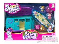 Squinkies Combi Van Beach Camper -