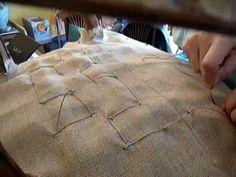 Tapissier cours couture ressort maison salamandre - YouTube