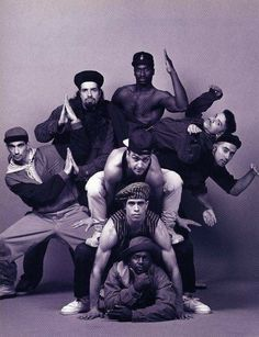 GhettOriginal Productions Inc. was a combination of members from Rhythm Technicians & Rock Steady Crew.