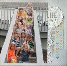 Really cute photo! Life's A Roller Coaster Ride by SuzMannecke at Studio Calico
