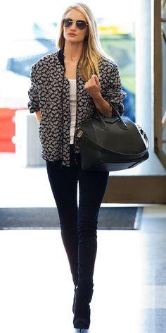 Rosie Huntington-Whiteley Airport Style
