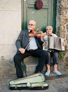 Parisian Musicians...what makes a city magic is the people who cast the spell