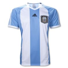 Yea, I might be buying this later: Argentina 11/12 Home Soccer T-Shirt