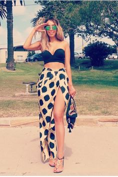 How To Wear A Slit Skirt                                                                                                                                                                                 More