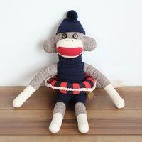 靴下生まれの可愛い「ソックモンキー」。申年の今年だからこそ作ってみよう♪