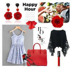 """happy hour"" by flie9enpilz ❤ liked on Polyvore featuring Bahina, Off-White, Dolce&Gabbana and Chicwish"