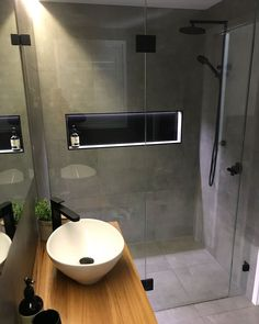 Do not let a small bathroom be a barrier to creating your desire bathroom we've obtained all the small bathroom ideas you'll need Smallbathroom smallbathroomideas fortinyhosuse bathroomideas u is part of Bathroom -