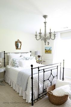 Savvy Southern Style: From Schoolhouse Light to French Chandelier