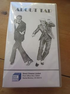 ABOUT TAP, Dance VHS, Gregory Hines, George T. Nierenberg Dancing