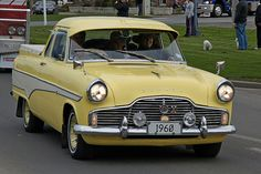 1960 Ford Zephyr Ute (Pickup). by Branxholm, via Flickr