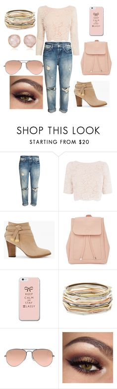 """""""Untitled #63"""" by bosniamode ❤ liked on Polyvore featuring Coast, White House Black Market, New Look, Kendra Scott, Ray-Ban and Monica Vinader"""