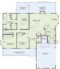 Fashion and function collaborate in this split-bedroom home plan tailor-made for your active lifestyle. Barrier-free transitions among living areas create...