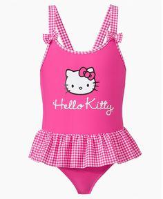 Little Girl Hello Kitty Turquoise Leopard 1 Piece