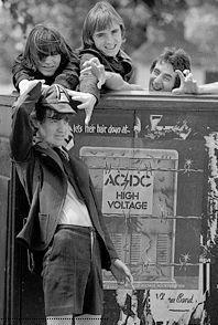 AC/DC - High voltage album - ~1976