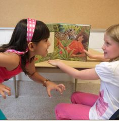 INSTRUCTION: In this BLD activity, students practice echo reading with the teacher by trying to mimic her expressivity and fluency. Then students work in small groups and practice reading the book chorally. This is an effective strategy as it allows students to practice their reading skills in a comfortable setting. Moreover, all students, including English Language Learners, benefit from practicing echo and choral reading. Learning A Second Language, First Language, High School Art, Middle School Art, Student Reading, Student Work, Teaching Channel, Dramatic Play Centers, Good Readers