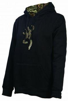 Browning Women's Buckmark Camo Sweatshirt