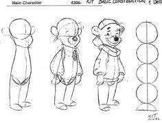 Sheets des personnages © Super Baloo