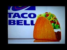 Doritos Locos Taco commercial - the only taco wrapped up in a Doritos shell