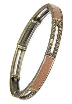 Get a one of a kind Brown Crystal and Leather Inset Long Link Stretchy Bracelet from 2 Lisas Boutique Arm Candy Bracelets, Crystals, Brown, Link, Leather, Gold, Jewelry, Jewlery, Jewerly