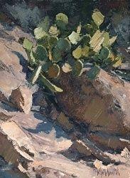 """Prickly Pear"" by Matt Smith Oil ~ 8"" x 6"""