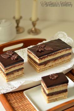 Сложность этого торта оправдывается его праздничным изысканным вкусом. Несмотря на то, что используются очень даже обыденные ингредиенты...