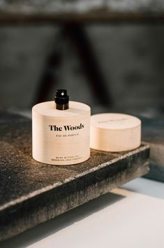 This delightfully handcrafted perfume is just perfect for fall. The Woods  is a new perfume that gives a clear idea of what it will smell like before  you even open the bottle. As their first perfume,Brooklyn Soap Company decided to create the packaging themselves for this special new product.