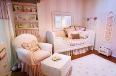 I wish D was still into fru-fru and pink.  Love this bed!