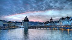 Lucerne, Switzerland (in the north-central part of Switzerland, Lucerne is the capital of the Canton of Lucerne (situated on Lake Lucerne, just within sight of both Mount Pilatus and Rigi in the Swiss Alps).  Carnival in winter rivals any found in major party spots)