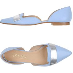 Dogma Ballet Flats (5.940 RUB) ❤ liked on Polyvore featuring shoes, flats, sky blue, ballerina pumps, ballet pumps, ballet flats, skimmer shoes and ballerina shoes