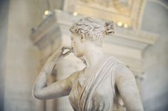 """""""Diana the Huntress"""" from Chateau de Versailles at Muse'e du Lourve"""