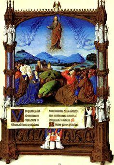 Folio 184r - The Ascension