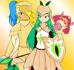 [cookie run]Knight n Pistachio(and princess) by Sasinun on DeviantArt