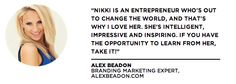 Alex Beadon  More at www.nikkielledgebrown.com/social-proof